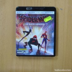 Hobbys: SPIDERMAN UN NUEVO MUNDO - 4K BLURAY. Lote 262547670