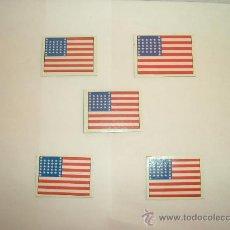 Hobbys: BANDERAS U.S. UNIÓN(YANKEE)-GUERRA SECESIÓN-ESCALA 1:32-CARTON. Lote 27272151