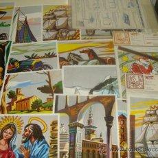 Hobbys: LOTE DE SIERRAS Y LÁMINAS DE LA CASA WUTO. AÑOS 60 - 70. MARQUETERÍA. . Lote 28022348