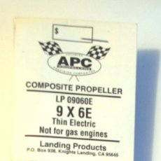 Hobbys: HELICE APC 9X6. LP 09060E. APC COMPOSITE PROPELLER. AEROMODELISMO RC. . Lote 36731739