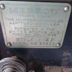 Hobbys: MAQUINA DE COSER MADE IN BRITISH, MERROW.. Lote 37346528