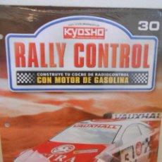 Hobbys: RALLY CONTROL. KYOSHO. PLANETA DE AGOSTINI. Nº 30. FASCICULO Y PIEZAS. Lote 224101805