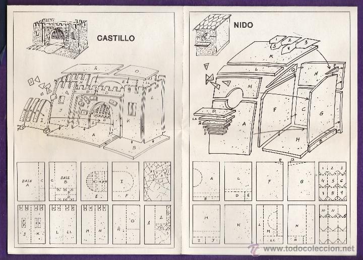Hobbys: folleto / instrucciones - manualidades en corcho corki - puerta alcala / belen / molino - ver foto - Foto 3 - 44115556