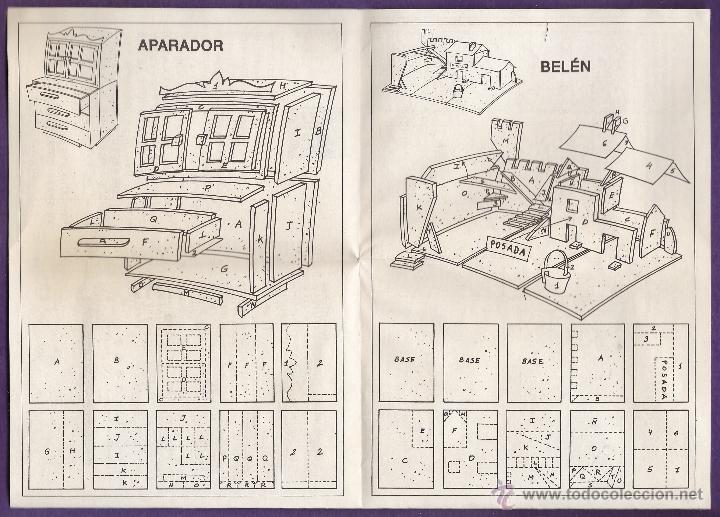 Hobbys: folleto / instrucciones - manualidades en corcho corki - puerta alcala / belen / molino - ver foto - Foto 4 - 44115556