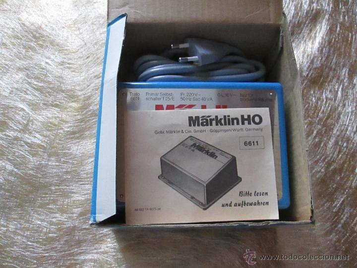Hobbys: ANTIGUO TRANSFORMADOR-WEST GERMANY-MAÄRKLIN 6511-220 VOLTIOS HO-N.O.S-C.1970-VER FOTOS.6 - Foto 4 - 52860471