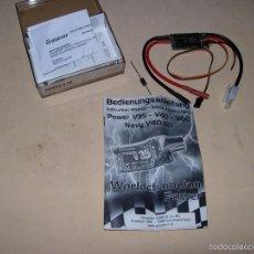 Hobbys: GRAUPNER 2848 POWER V 35 CONTROLADOR DE VELOCIDAD.. Lote 55109157