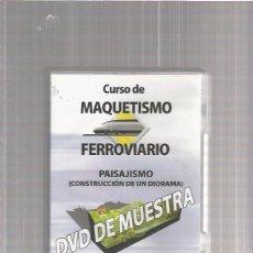Hobbys: CURSO DE MAQUETISMO FERROVIARIO. Lote 55149372