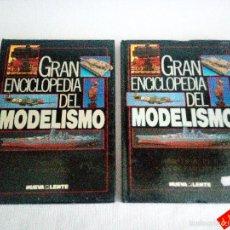 Hobbys: COLOR Y PINTURA + MATERIALES Y HERRAMIENTAS / GRAN ENCICLOPEDIA DEL MODELISMO. Lote 56017792