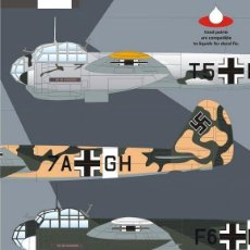 Hobbys: AUTHENTIC DECALS 7246 JUNKERS JU 88D CALCAS 1/72. Lote 57556141