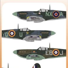 Hobbys: AUTHENTIC DECALS 72-55 WAR GIFTS: PRESENTATION SPITFIRES MK. II, V, IX CALCAS 1/72. Lote 57556147