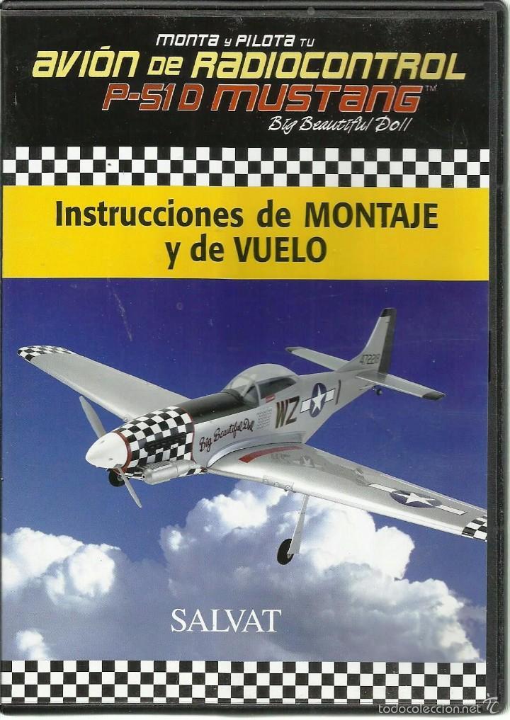 DVD *MONTA Y PILOTA AVIÓN DE RADIOCONTROL P-51 D MUSTANG* (Juguetes - Modelismo y Radiocontrol - Herramientas y Accesorios)