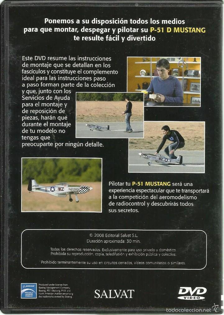 Hobbys: DVD *MONTA Y PILOTA AVIÓN de RADIOCONTROL P-51 D MUSTANG* - Foto 2 - 57578143