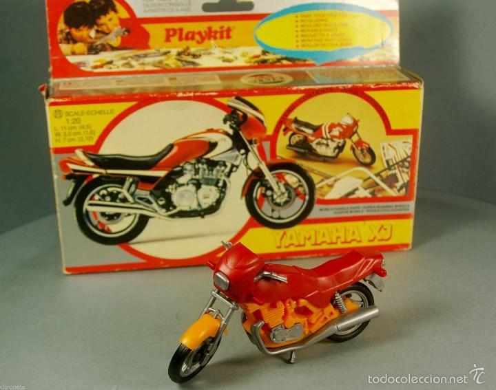 PLAYKIT 1:20 MADE ITALY KIT DE PLASTICO ANTIGUA MOTO YAMAHA XJ MOTOCICLETA VINTAGE MONTADA CON CAJA (Juguetes - Modelismo y Radiocontrol - Herramientas y Accesorios)