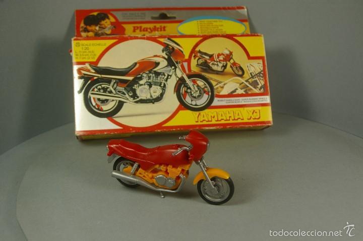 Hobbys: PLAYKIT 1:20 Made Italy KIT de Plastico Antigua MOTO YAMAHA XJ Motocicleta VINTAGE Montada con caja - Foto 2 - 57998646