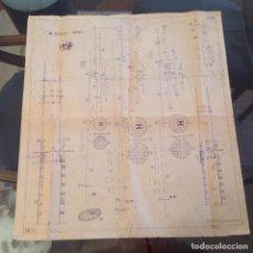 Hobbys: PLANO DE MONTAJE DEL BARCO S. FELIPE 1690, EDICION NAVIMODELISMO 1966, VINCENZO LUSCI, FLORENCIA,. Lote 76991253