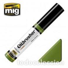 Hobbys: MIG - OILBRUSHER VERDE OLIVA ILIVE GREEN. Lote 77366185