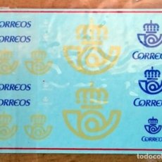 Hobbys: CORREOS DECLAS AL AGUA ESCALA 1/43. Lote 93274885