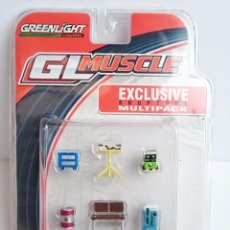 Hobbys: 1/64 GREENLIGHT GL MUSCLE - EXCLUSIVE SHOPTOOL MULTIPACK. Lote 92065825