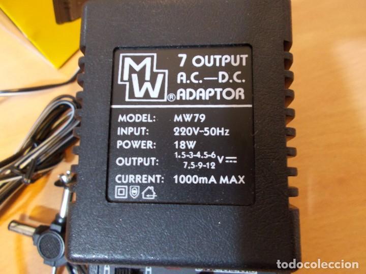 Hobbys: Adaptador de corriente desde 1,5v hasta 12v maximo 1000mA. 18w Multiusos Universal NUEVO - Foto 7 - 103248503