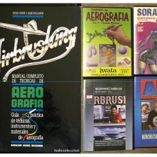 Hobbys: LIBRO MANUAL Y TÉCNICAS DE AEROGRAFIA AIRBRUSHING. Lote 87542604