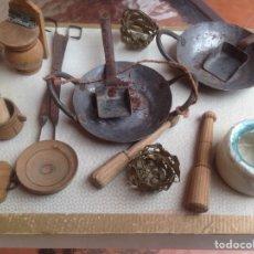 Hobbys: MINIATURA DE UTENSILIOS DE COCINA. Lote 106597143