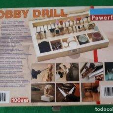 Hobbys: ACCESORIOS MINI TALADRO – POWERFIX – TIPO DREMEL. Lote 111580871