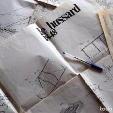 Hobbys: PLANOS CONSTRUCCIÓN BARCO LE HUSSARD 1848 - ARTESANÍA LATINA. Lote 121931507