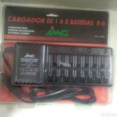 Hobbys: CARGADOR DE 1 A 8 BATERÍAS R-6. CARGADOR PARA BATERÍAS RECARGABLES DE NÍQUEL CADMIO. Lote 122546875