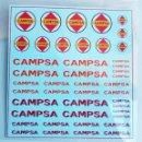 Hobbys: TRANSFERIBLES AL AGUA ANTIGUOS LOGOTIPOS CAMPSA 1/87 HO - DES-CATALOGADAS. Lote 155180808