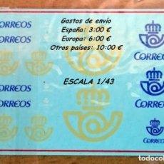 Hobbys: TRANSFERIBLES AL AGUA LOGOTIPOS CORREOS ESPAÑA. Lote 141647948