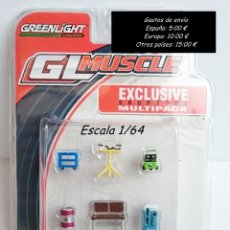 Hobbys: GREENLIGHT GL MUSCLE - EXCLUSIVE SHOPTOOL MULTIPACK. Lote 92065825