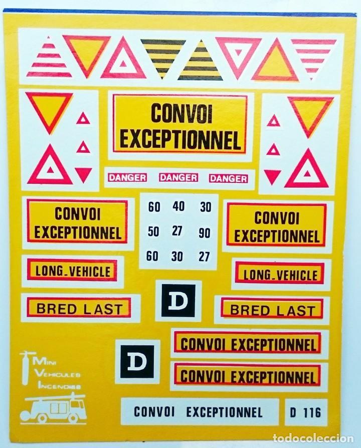 TRANSFERIBLES AL AGUA CONVOY EXCEPCIONAL / RARAS (Juguetes - Modelismo y Radiocontrol - Herramientas y Accesorios)