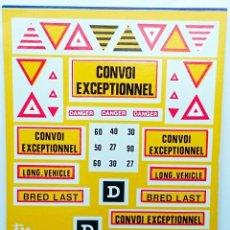 Hobbys: CALCA AL AGUA CONVOY EXCEPCIONAL - OBSOLETA. Lote 93302785