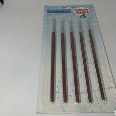Hobbys: SET PINCELES CALIDAD MARTA HOBBY TOOLS. Lote 129658319