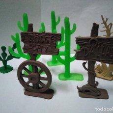 Hobbys: PEQUEÑO LOTE DE COMPLEMENTOS DEL OESTE . Lote 140290550