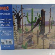Hobbys: IMEX ACCESORIOS ALAMO, AMERICAN HISTORY SERIES, ESCALA 1:72, 25MM, NUMERO 533, NUEVO.. Lote 144708310