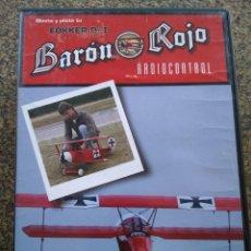 Hobbys: DVD -- MONTA Y PILOTA TU FOKKER DR I -- BARON ROJO -- RADIOCONTROL --. Lote 227803320
