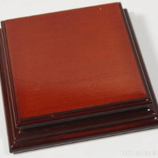 Hobbys: PEANA MADERA: MEDIDAS (PARTE SUPERIOR): 7,50 X 7,5 X 2,20 CMS. REF. 84. Lote 146765570