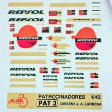 Hobbies - TRANSFERIBLES AL AGUA LOGOTIPOS REPSOL - 152230878