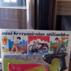 Hobbys: MINI BLISTER HERRAMIENTAS UTILIZABLES AÑOS 70. Lote 156490002