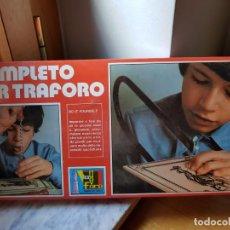 Hobbys: ANTIGUO JUEGO DE HERRAMIENTAS COMPLETO PER TRAFORO AÑOS 70 SIN DESPRECINTAR. Lote 156829690
