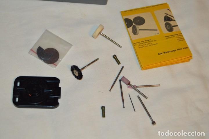 Hobbys: VINTAGE MINI TALADRO STICHLING MINI DRILL 19 201 - CON CAJA, PAPELES Y ACCESORIOS VARIOS - ENVÍO 24H - Foto 8 - 159579310