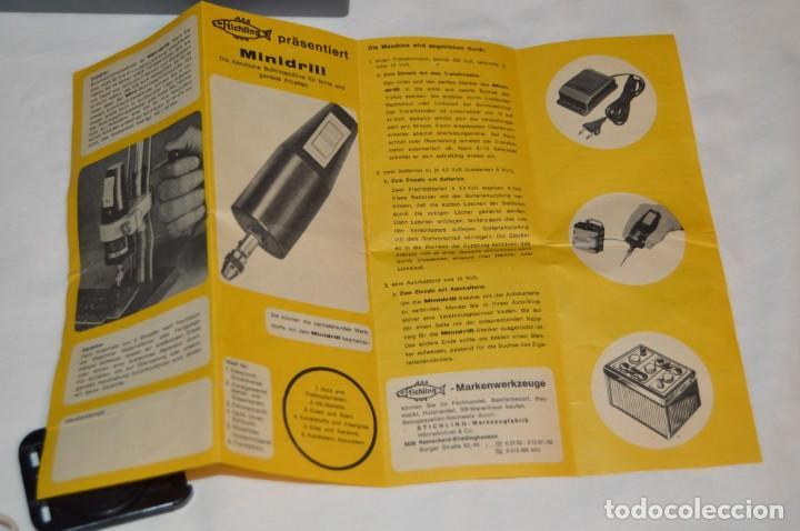 Hobbys: VINTAGE MINI TALADRO STICHLING MINI DRILL 19 201 - CON CAJA, PAPELES Y ACCESORIOS VARIOS - ENVÍO 24H - Foto 12 - 159579310