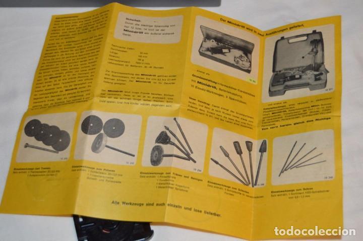 Hobbys: VINTAGE MINI TALADRO STICHLING MINI DRILL 19 201 - CON CAJA, PAPELES Y ACCESORIOS VARIOS - ENVÍO 24H - Foto 14 - 159579310