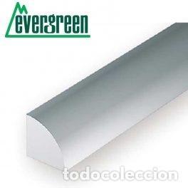 Hobbys: EVERGREEN 247. 5 PERFILES DE ESTIRENO DE 1/4 DE TUBO DE 1,0 mm. - Foto 2 - 160666770
