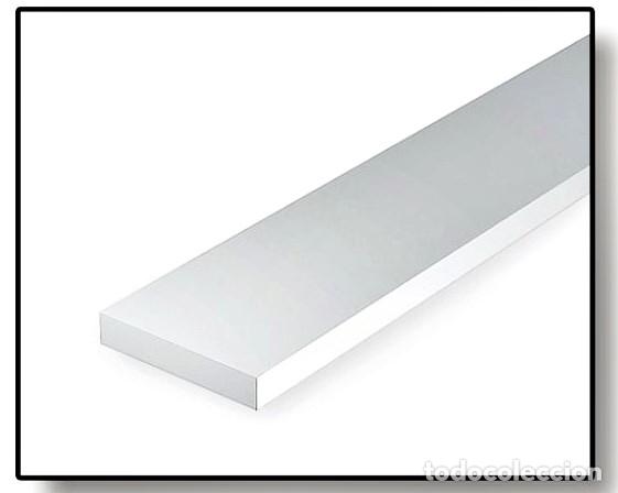 Hobbys: EVERGREEN 111. 10 TIRAS DE ESTIRENO DE 0,4 x 0,75 mm. - Foto 2 - 160667982