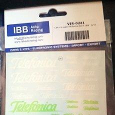 Hobbys: TRANSFERIBLES AL AGUA / NOMBRE TELEFONICA. Lote 127637203