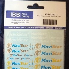 Hobbys: CALCA VIRAGES MOVISTAR 1/24-1/32 -1/43. Lote 127637307