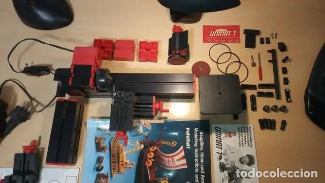 Hobbys: torno unimat 1 modeladora fresadora cortadora - Foto 3 - 168059012