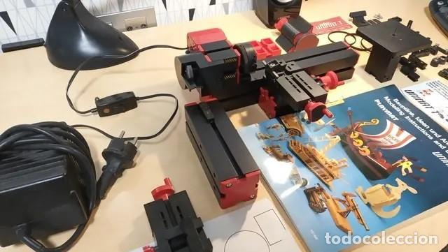 Hobbys: torno unimat 1 modeladora fresadora cortadora - Foto 6 - 168059012
